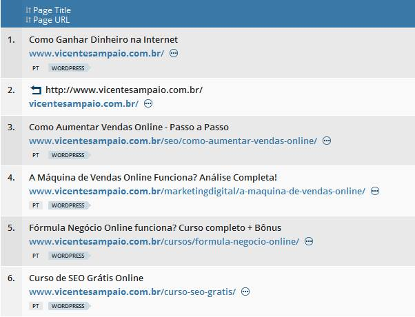 minhas top pages