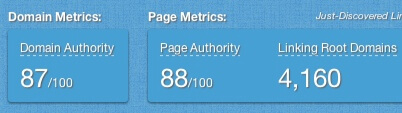 page-domain-authority